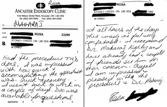 hemorrhoids patient testimonial